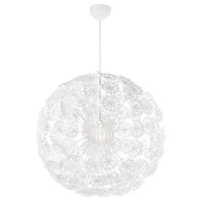 GRIMSÅS pendant lamp white 13 W 80 cm 1.2 m