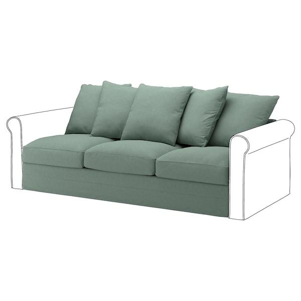 GRÖNLID cover for 3-seat section Tallmyra light green