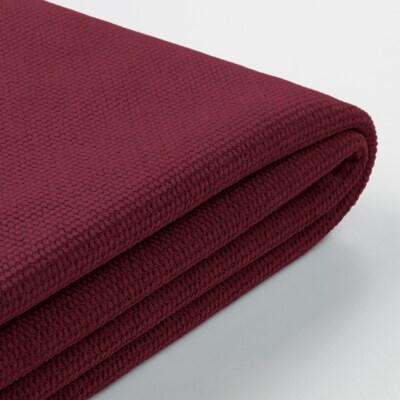 GRÖNLID cover for chaise longue Tallmyra dark red