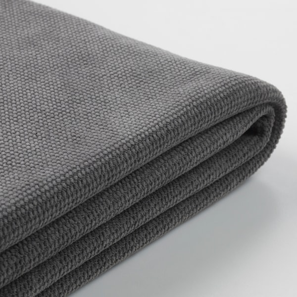GRÖNLID cover for corner sofa, 5-seat Tallmyra medium grey