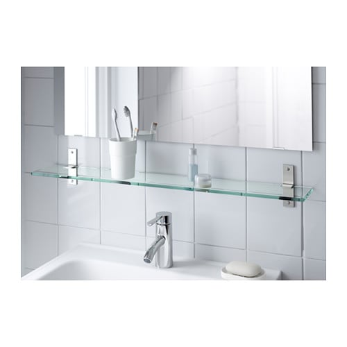 Ikea Schreibtisch Tastaturauszug ~ IKEA GRUNDTAL glass shelf Tempered glass  extra resistant to heat