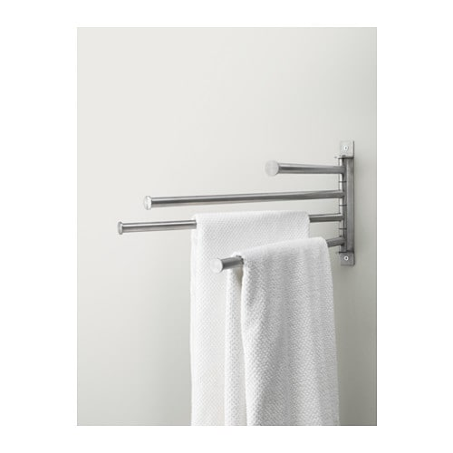 Ikea Kinderzimmer Aufkleber ~ IKEA GRUNDTAL towel holder 4 bars Fully swivelling to the left or