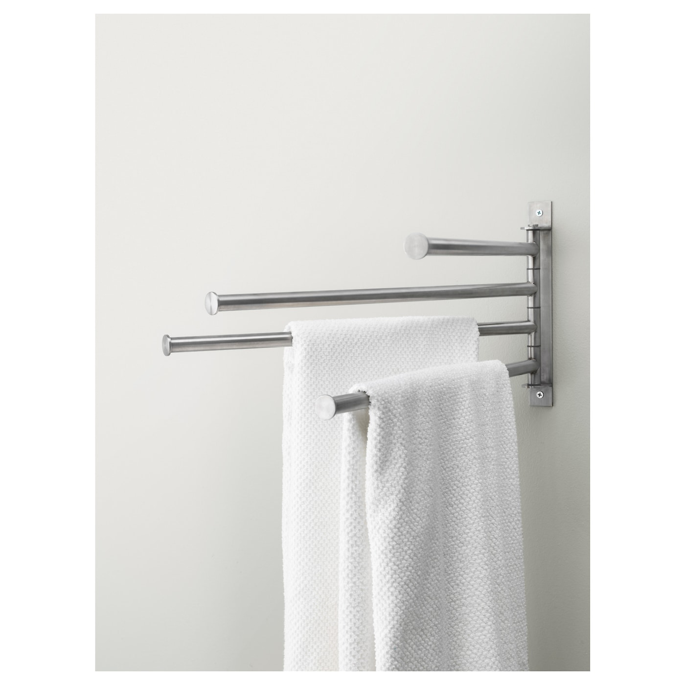 grundtal towel holder 4 bars stainless steel ikea. Black Bedroom Furniture Sets. Home Design Ideas