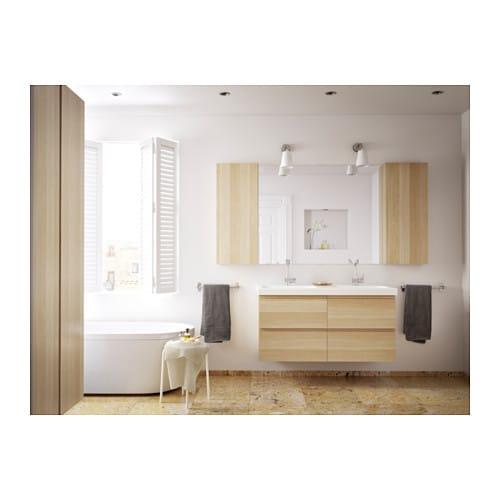 Ikea Malm Bett Mit Anderem Lattenrost ~ GRUNDTAL Towel rail Stainless steel 40 cm  IKEA