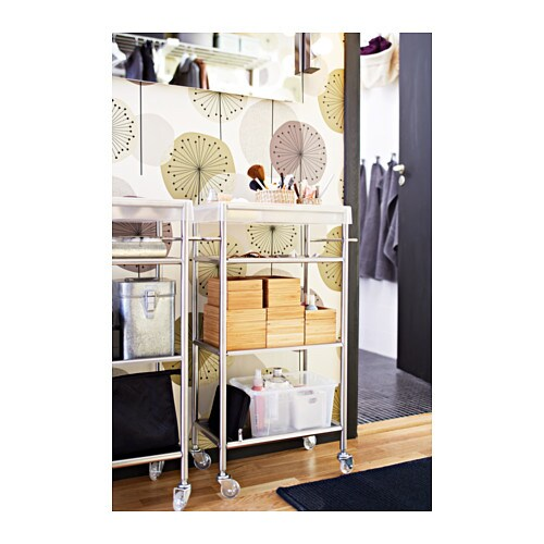 Glass Door Cabinet Ikea Kitchen ~ IKEA GRUNDTAL trolley Easy to move  castors included Removable