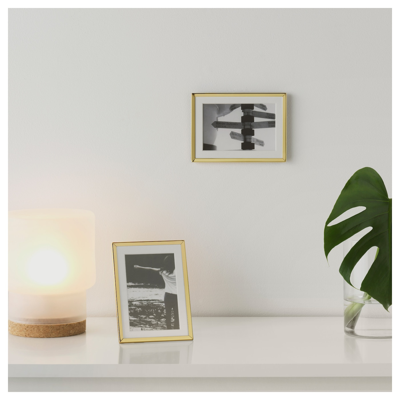 IKEA GULDBODA frame If you want some variation, you can easily change motif in the frame.