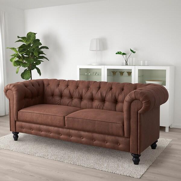 GULLERED 2-seat sofa, Järstad antique effect