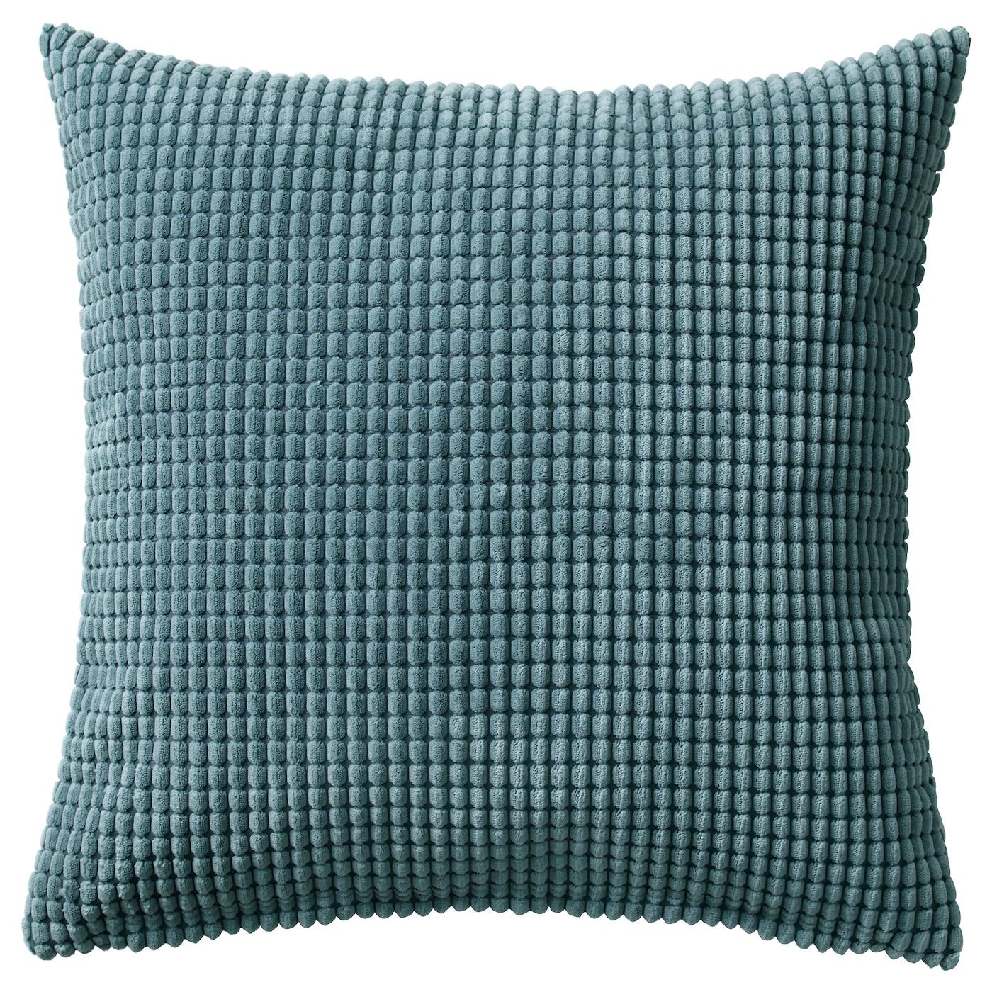 GULLKLOCKA Cushion cover Blue grey 50x50 cm IKEA