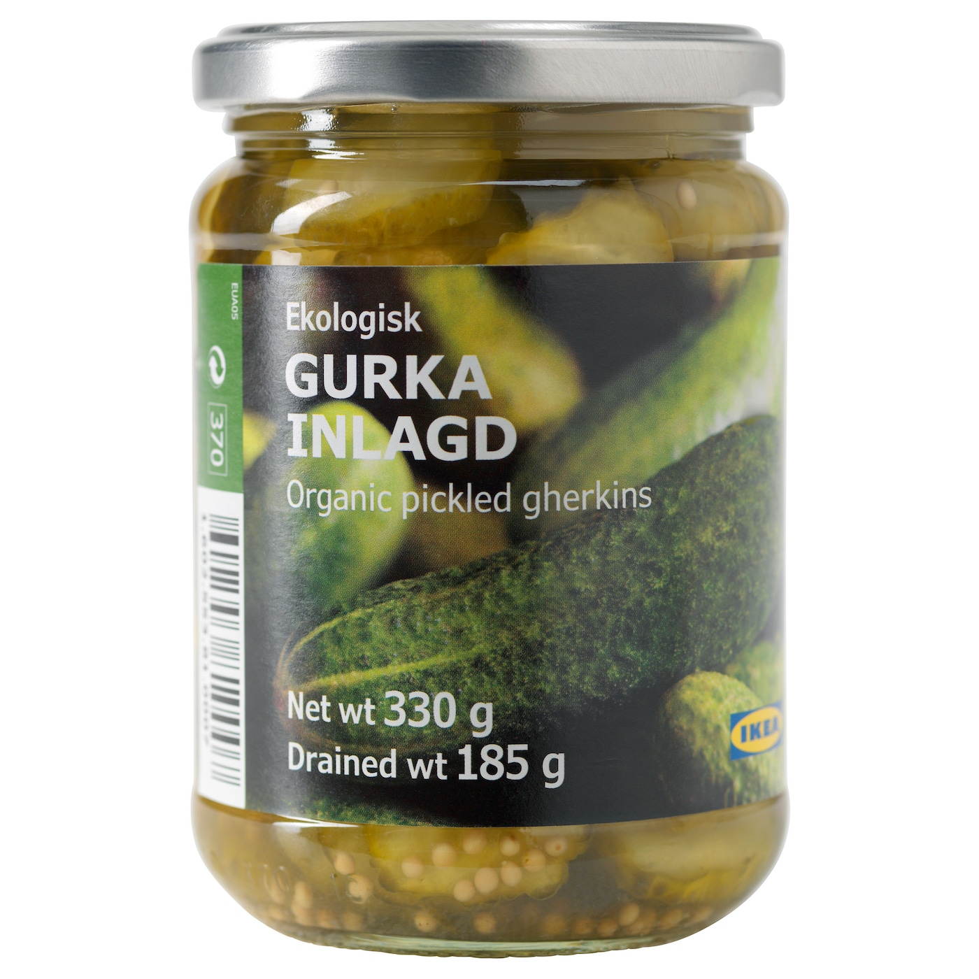 IKEA GURKA INLAGD pickled gherkins, sliced