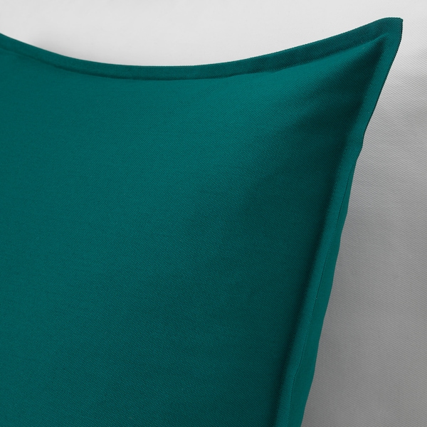 GURLI cushion cover dark green 50 cm 50 cm