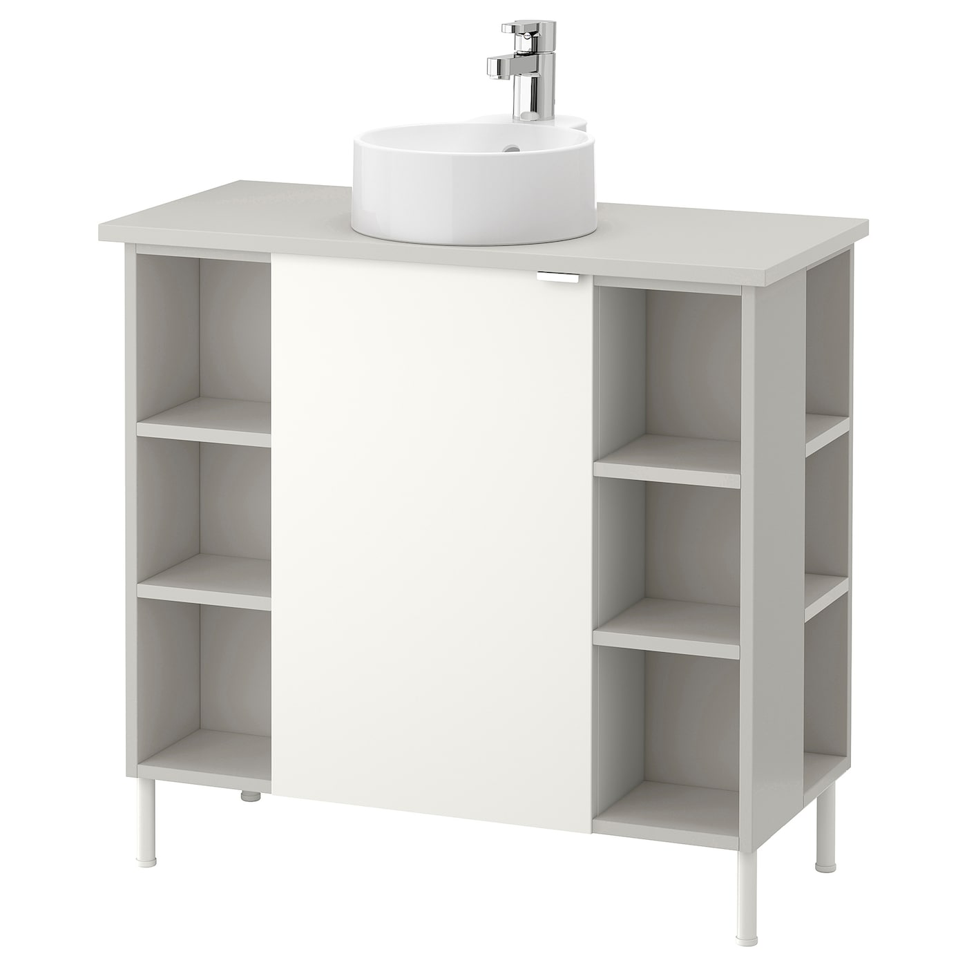 IKEA GUTVIKEN/LILLÅNGEN/VISKAN washbasin cab 1 door/4 end unit