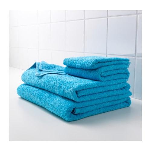 h ren bath towel turquoise 70x140 cm ikea