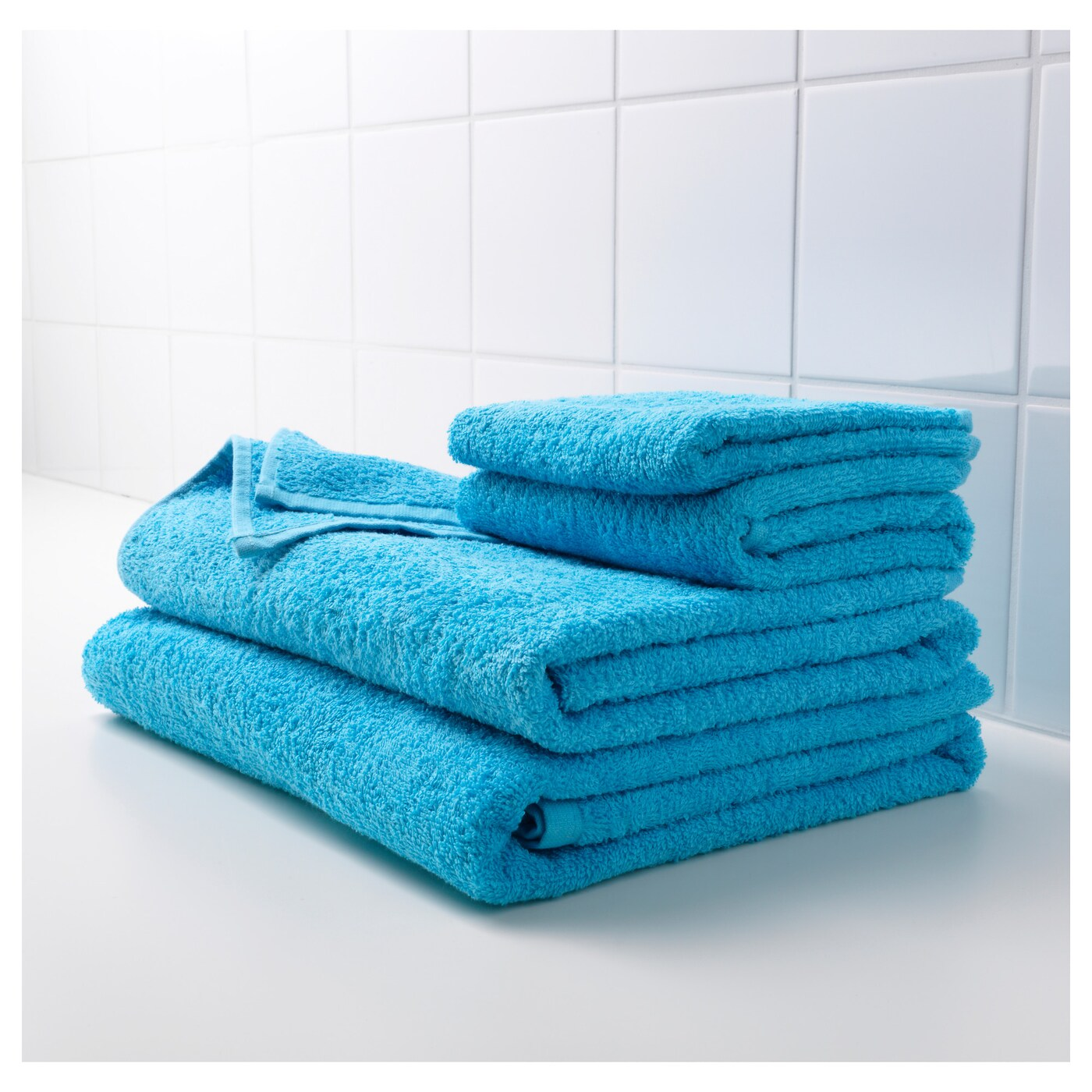 IKEA HÄREN washcloth The long, fine fibres of combed cotton create a soft and durable towel.