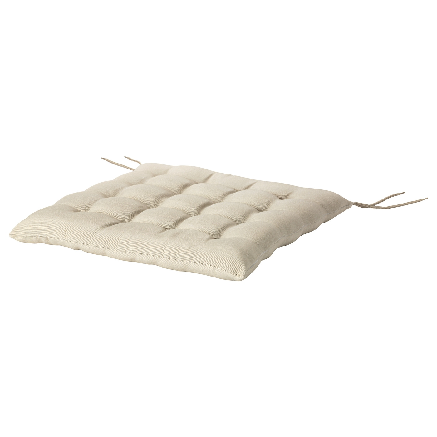 IKEA HALLO Chair Cushion Outdoor Ties Keep The Firmly In Place On