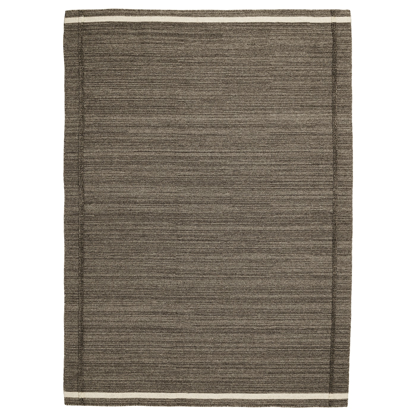 IKEA HÖJET rug, flatwoven The rug is made of wool so it's naturally soil-repellent and very durable.