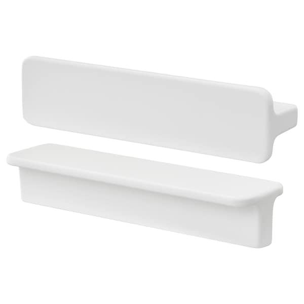 HACKÅS Handle, white, 100 mm