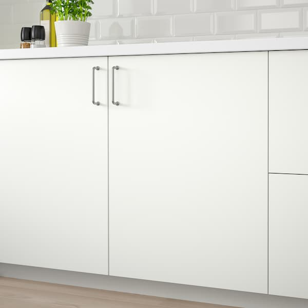 HÄGGEBY Front for dishwasher, white, 45x80 cm