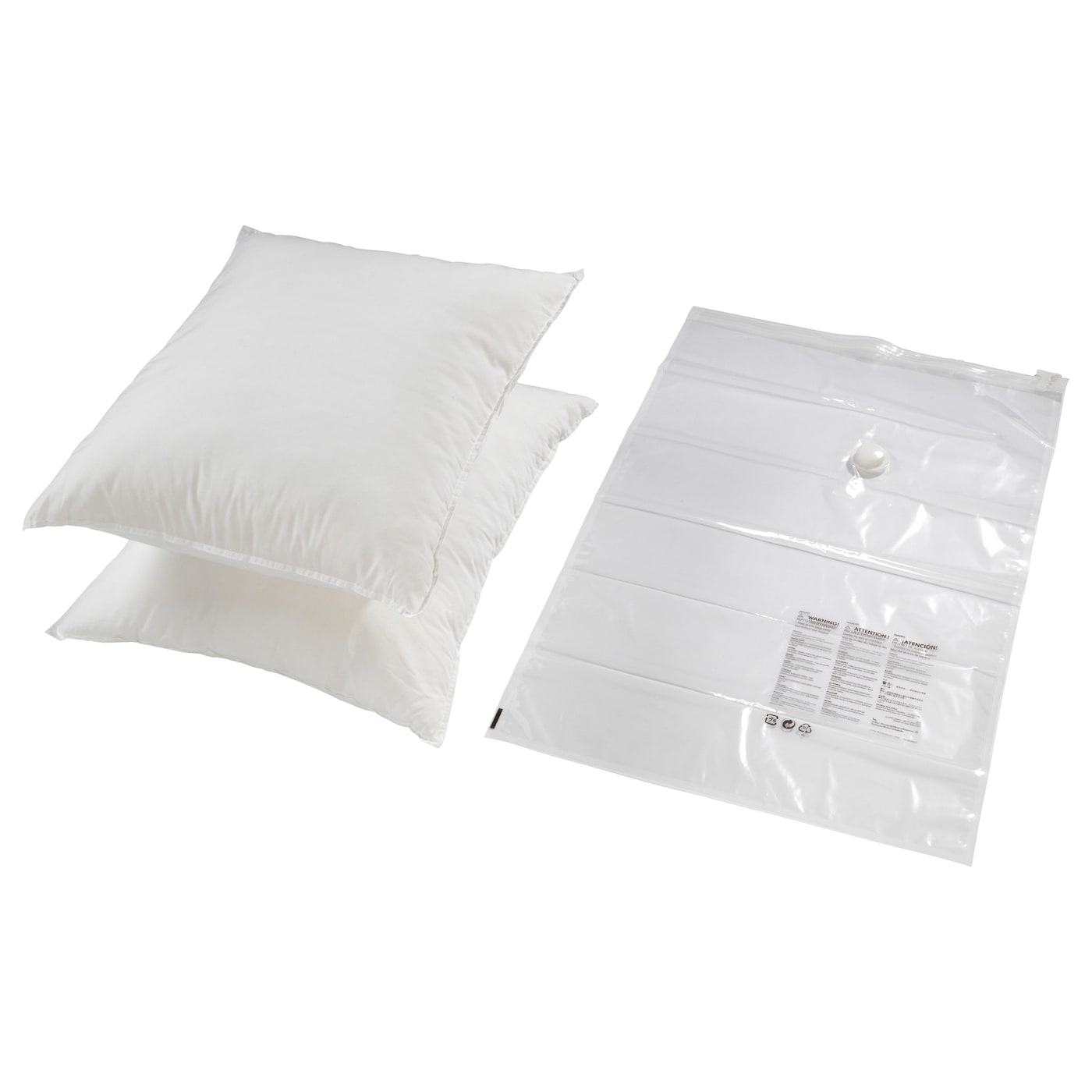 hajdeby vacuum sealed bag transparent 67x100 cm ikea