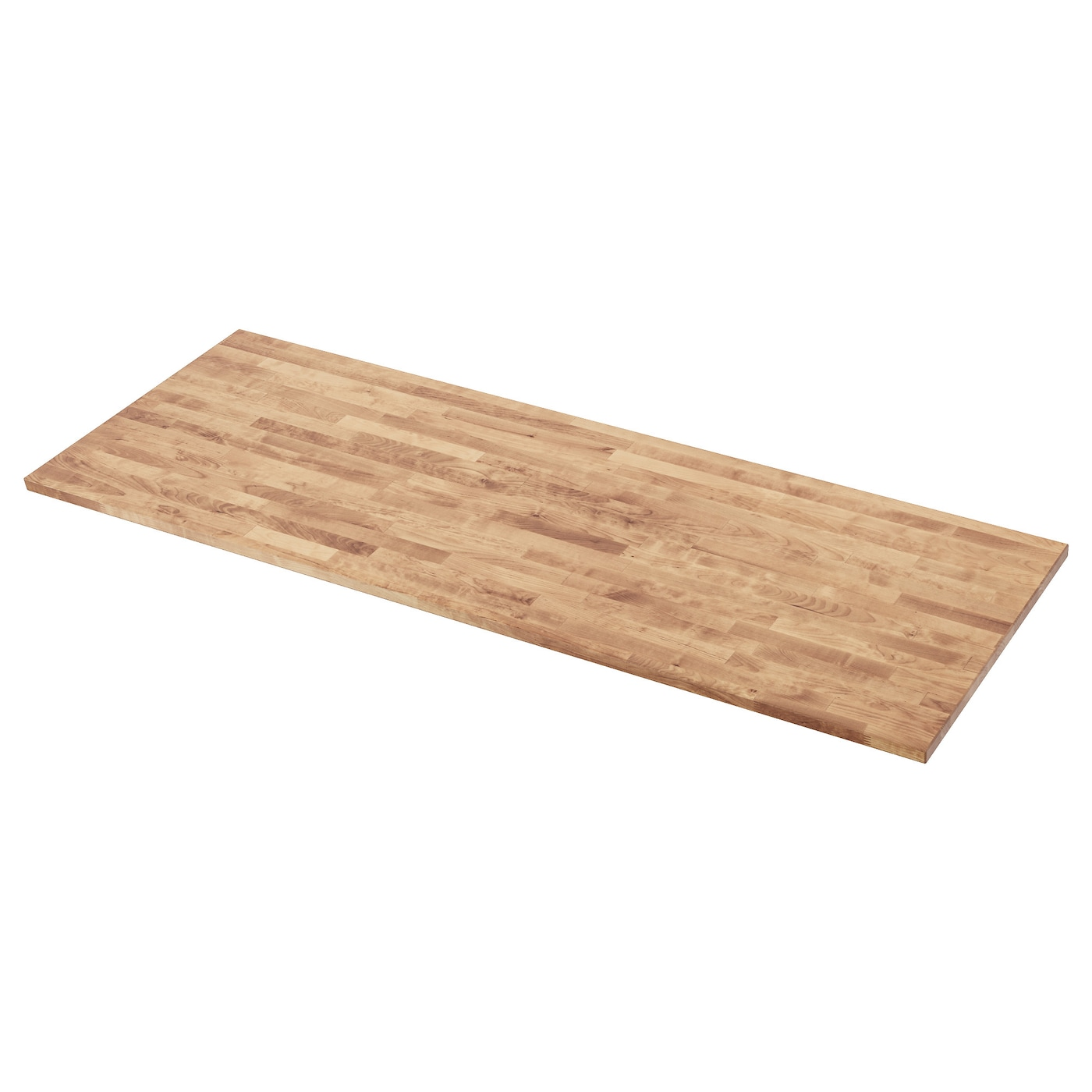 IKEA HAMMARP worktop Solid wood can be cut to the desired length.