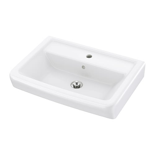 IKEA HAMNVIKEN single wash-basin 10 year guarantee. Read about the terms in the guarantee brochure.