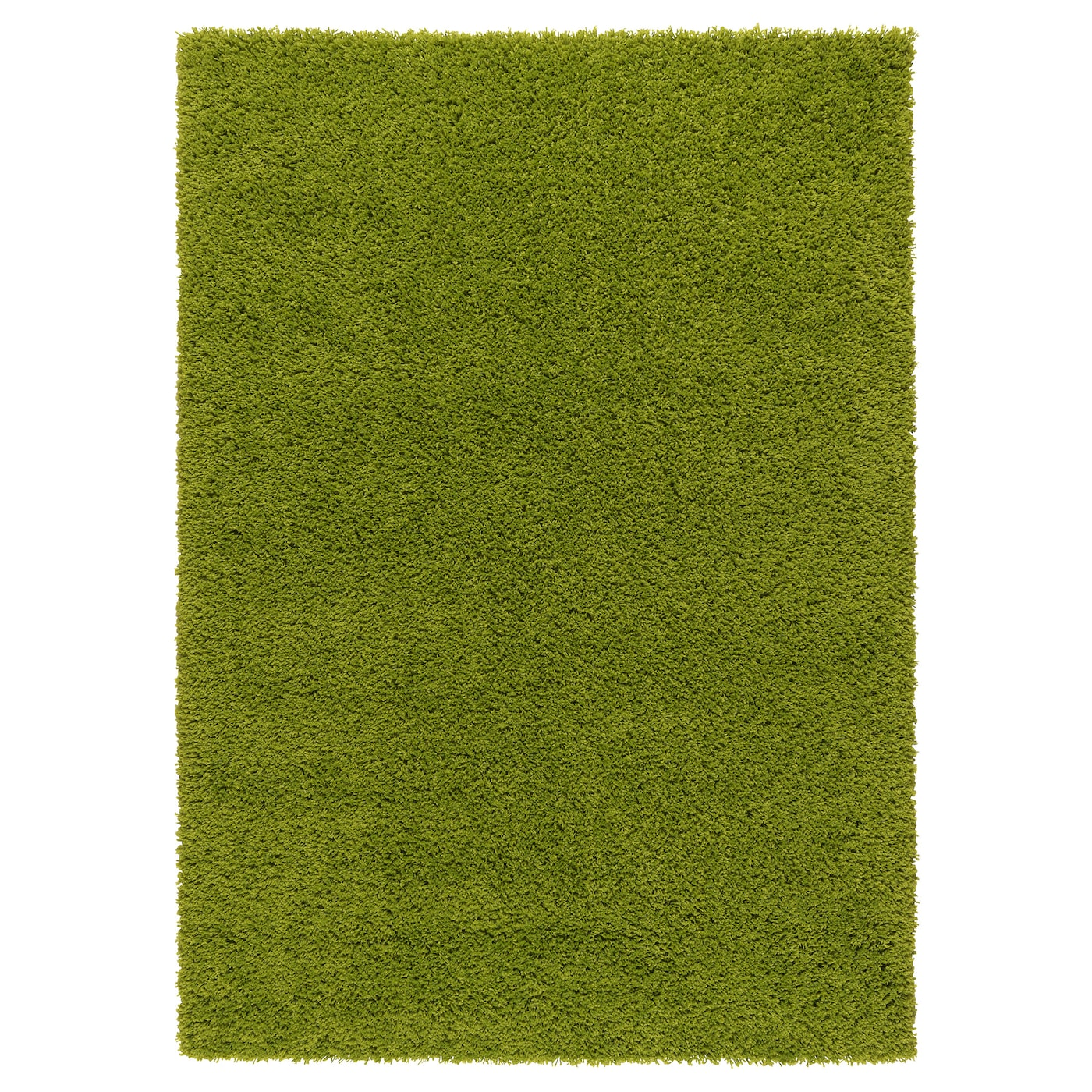 hampen rug high pile bright green 133x195 cm ikea. Black Bedroom Furniture Sets. Home Design Ideas
