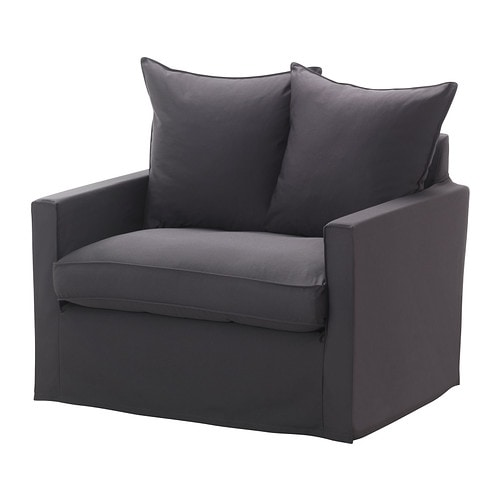 HÄRNÖSAND Armchair cover IKEA Easy to keep clean; removable, machine washable cover.