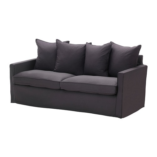 HÄRNÖSAND Three-seat sofa IKEA A seating series with small, neat dimensions; easy to furnish with, even when space is limited.