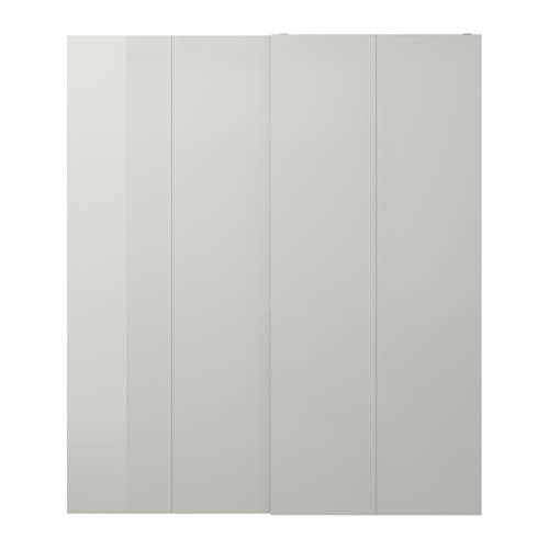 IKEA HASVIK pair of sliding doors 10 year guarantee. Read about the terms in the guarantee brochure.