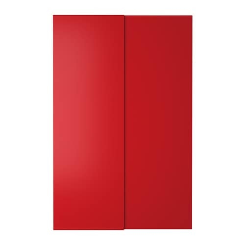 HASVIK Pair of sliding doors IKEA 10 year guarantee.   Read about the terms in the guarantee brochure.