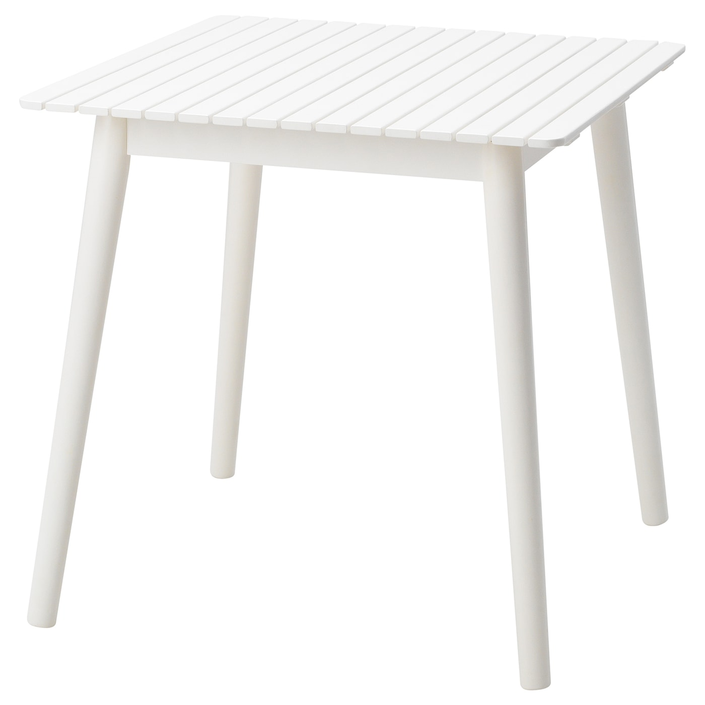 IKEA HATTHOLMEN table, outdoor Solid wood is a hard-wearing natural material.