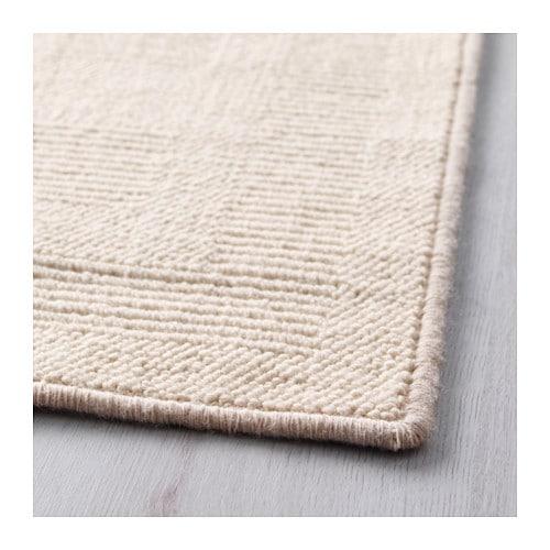 havbro rug low pile off white 170x240 cm ikea. Black Bedroom Furniture Sets. Home Design Ideas