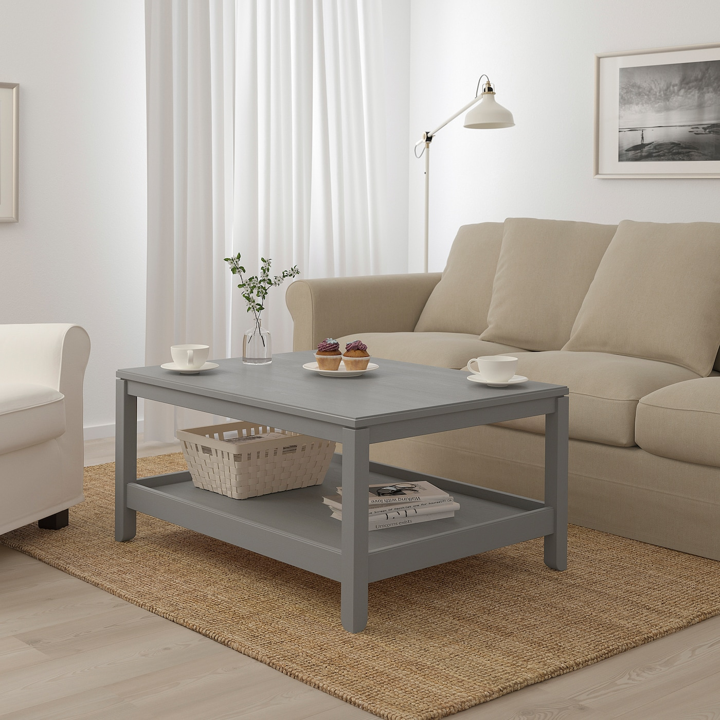 Havsta Coffee Table Grey 100x75 Cm Ikea Ireland [ 1400 x 1400 Pixel ]