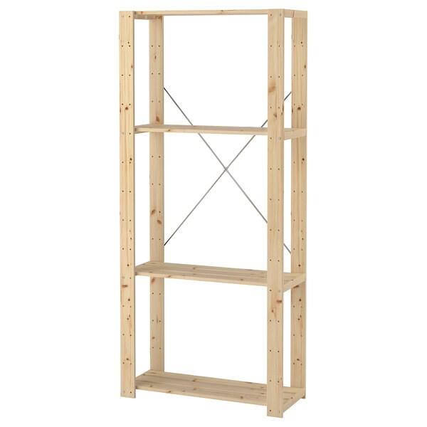 HEJNE 1 section softwood 78 cm 31 cm 171 cm 35 kg