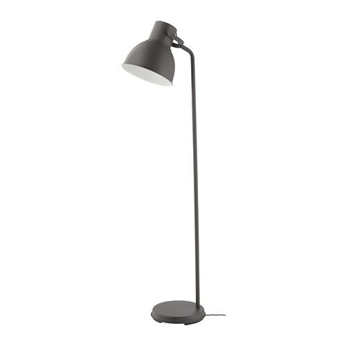 HEKTAR Floor lamp Dark grey IKEA