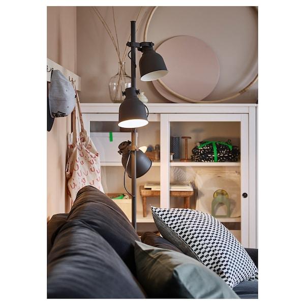 Hektar Floor Lamp With 3 Spot Dark Grey Ikea