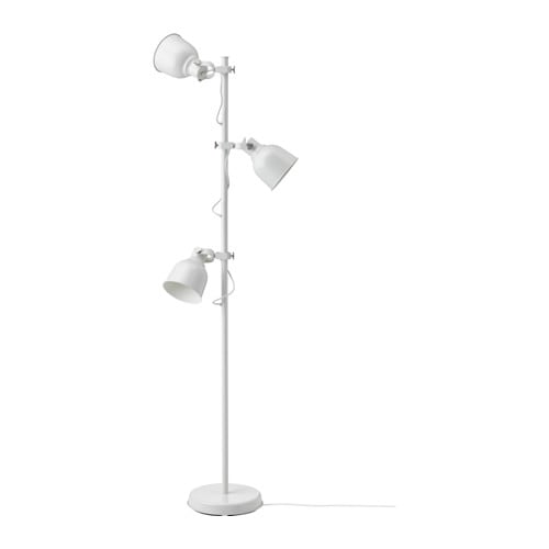 IKEA HEKTAR floor lamp with 3-spot