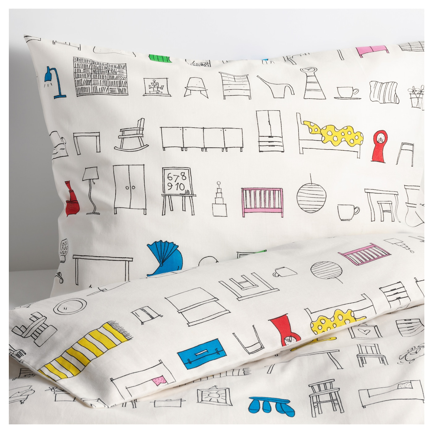 IKEA HEMMAHOS quilt cover and pillowcase