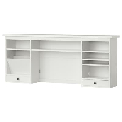 HEMNES add-on unit desk white 152 cm 25 cm 63 cm