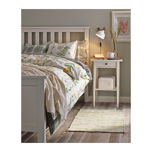 Ideas To Arrange Ikea Malma Mirror ~ IKEA HEMNES bed frame Made of solid wood, which is a hardwearing and