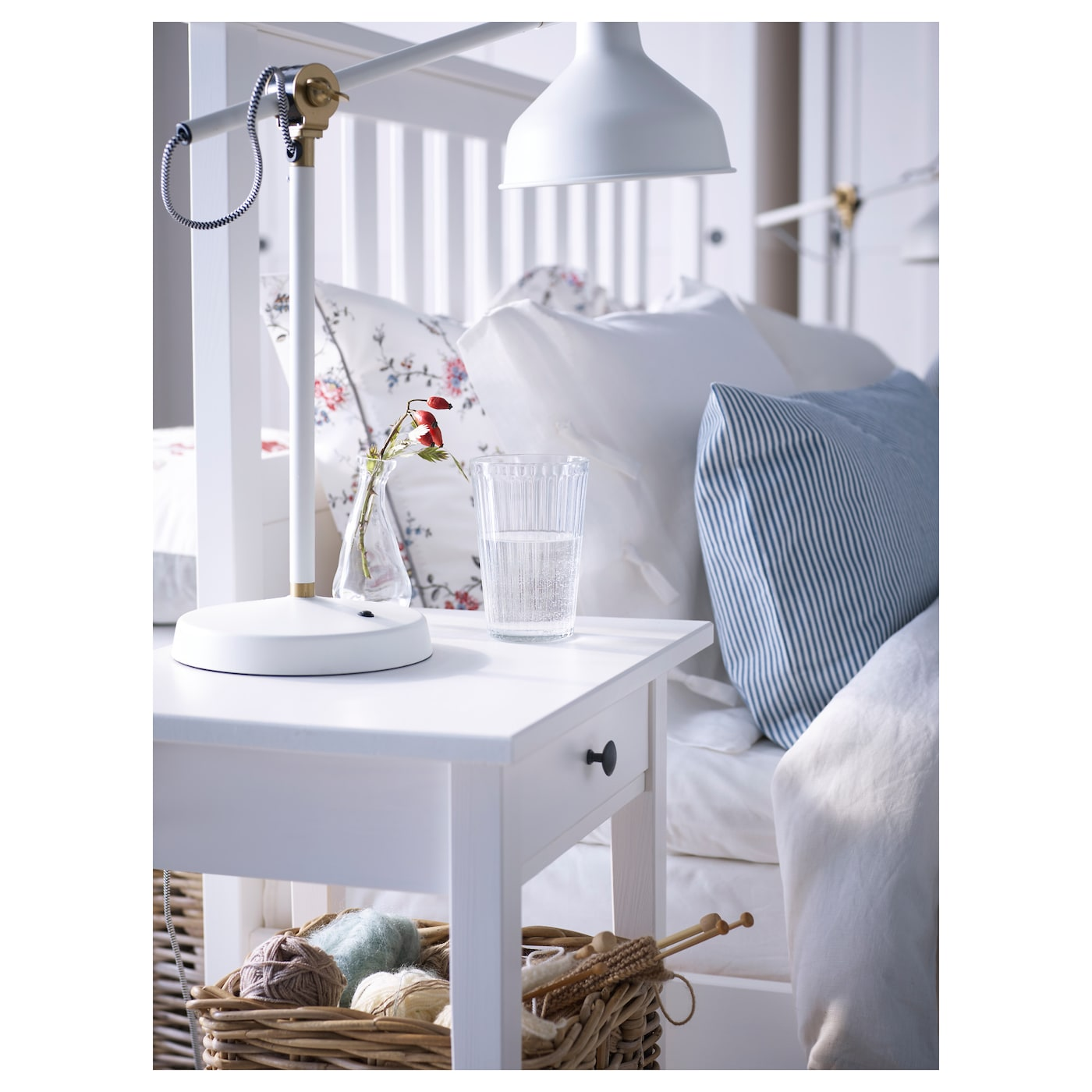 ikea hemnes bed frame made of solid wood which is a hardwearing and warm natural - Hemnes Bed Frame