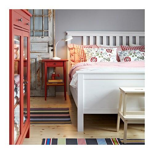 Ikea baby bett wei es gonatt babybett mit drei bunten - Mesilla hemnes ikea ...
