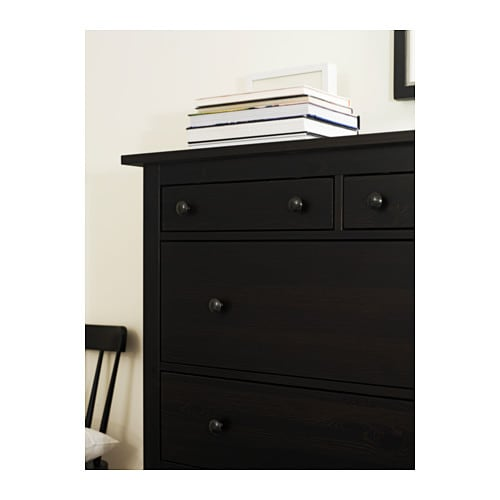 IKEA HEMNES chest of 6 drawers Made of solid wood, which is a hardwearing and warm natural material.