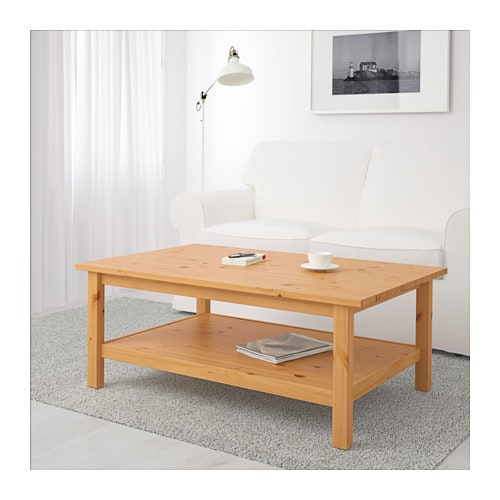 Hemnes Coffee Table Black Brown 90x90 Cm: HEMNES Coffee Table Light Brown 118x75 Cm