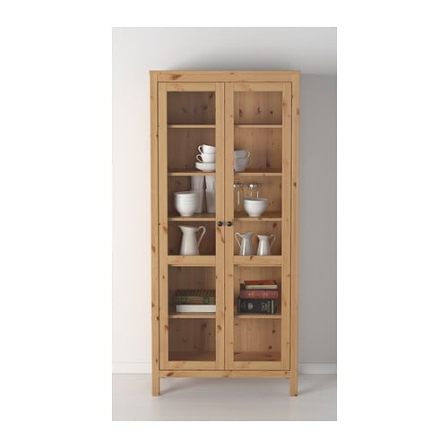 Glass Door Cabinet Ikea Hemnes ~   PRODUCTS  Storage furniture  Cabinets & display cabinets  HEMNES