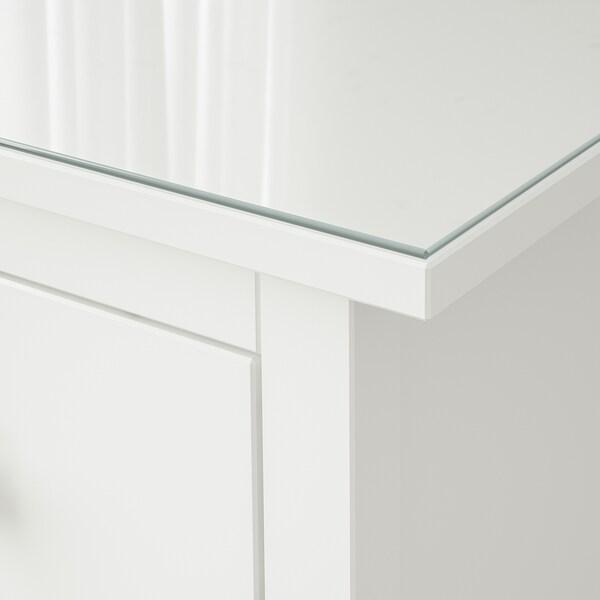 HEMNES glass top transparent 108 cm 50 cm