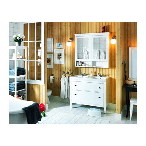 Ikea Glass Door Cabinet Mirror ~ HEMNES Mirror cabinet with 2 doors White 103x16x98 cm  IKEA