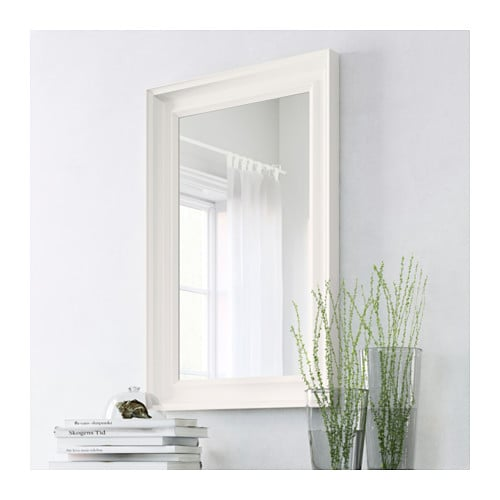 hemnes mirror white 60x90 cm ikea. Black Bedroom Furniture Sets. Home Design Ideas