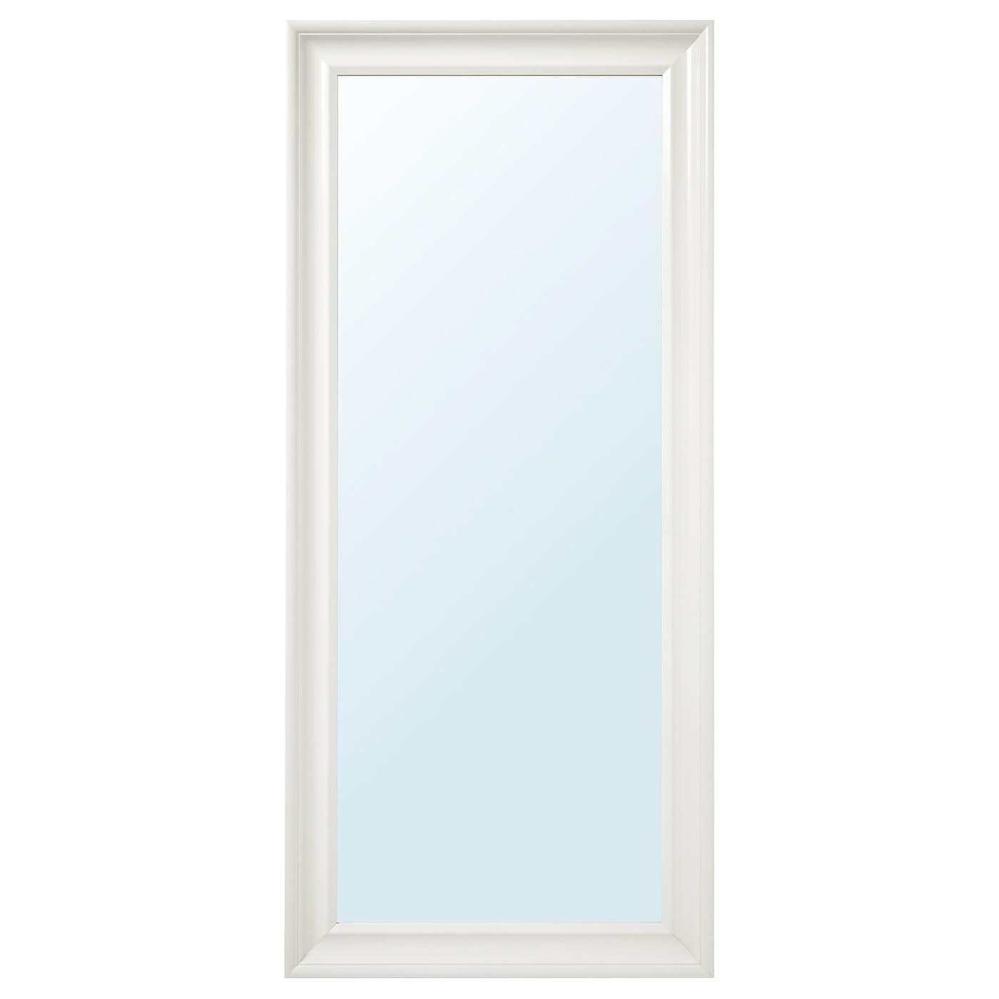 Hemnes Mirror White 74 X 165 Cm Ikea