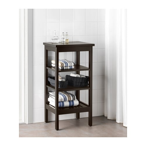 IKEA HEMNES shelving unit The open shelves give an easy overview and