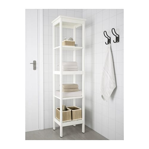 hemnes shelving unit white 42x172 cm ikea. Black Bedroom Furniture Sets. Home Design Ideas